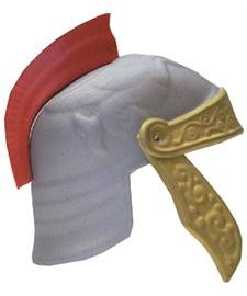 Childs Roman Gladiator EVA Foam Helmet Costume Hat