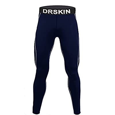 [DRSKIN] DN02 Compression Tight Pants Base Layer Running Leggings Men Women