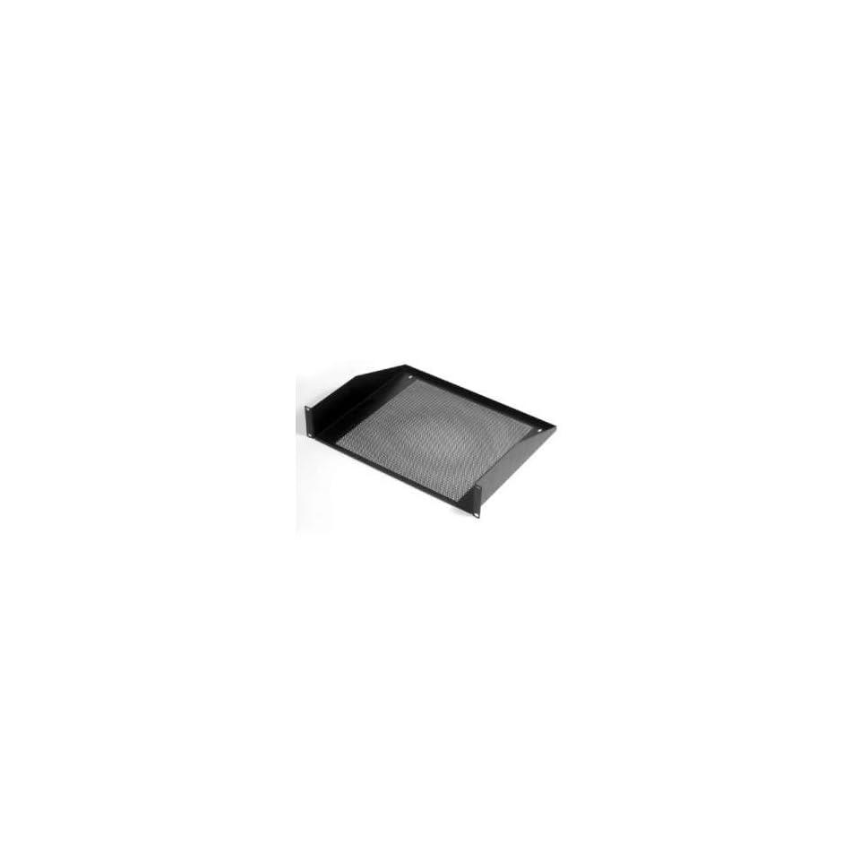 Penn Elcom R1194/4UVK VENTED RACK SHELF 4U Black STEEL on PopScreen
