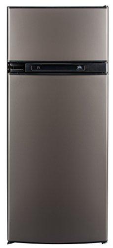 Norcold N3150AGL 3.7 cu. ft. 2 Door Refrigerator (3-Way AC/LP Euro, Left Hand Door Auto LCD Control Grey Doors) (Lp Electric Refrigerator compare prices)