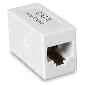 CAT6 RJ45 Inline Coupler, Unshielded