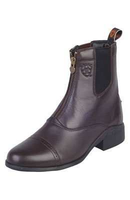 Ariat Ladies Heritage III Zip (Chocolate, UK 6 1/2)