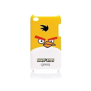 Gear4 G4TCAB402 - Funda para Apple iPod Touch 4, modelo Angry Birds, color amarillo
