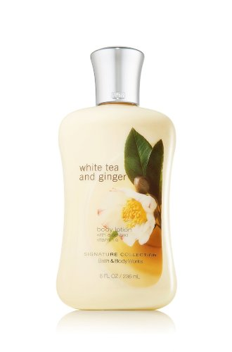 Bath Body Works White Tea Ginger 8.0 oz Body Lotion enovo hi q medical teaching model 26cm body trunk model anatomical organ model of human body system