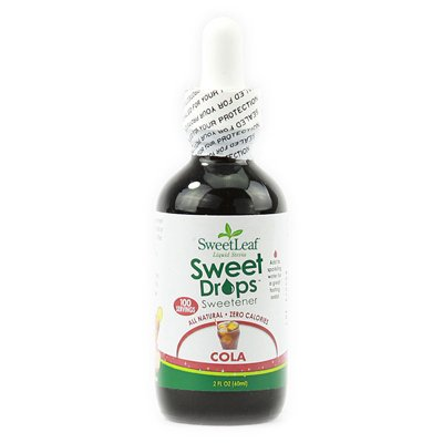 Wisdom Natural Sweetleaf Sweet Drops Cola - 2 Fl Oz