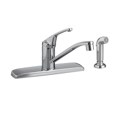 Cyber Monday Deals American Standard 4175.201F15.002 Colony Soft Single Control Kitchen Faucet with 1.5 gpm Aerator and Side Spray...