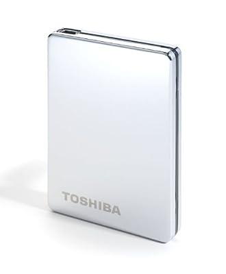 Toshiba PA4152E-1HE0 500GB 2.5 Inch External Silver Steel Hard Drive by Toshiba