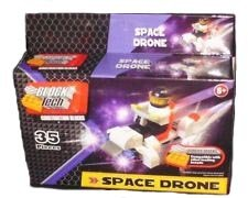 35 Piece Block Set Builds a Space Drone Compatible with Legos