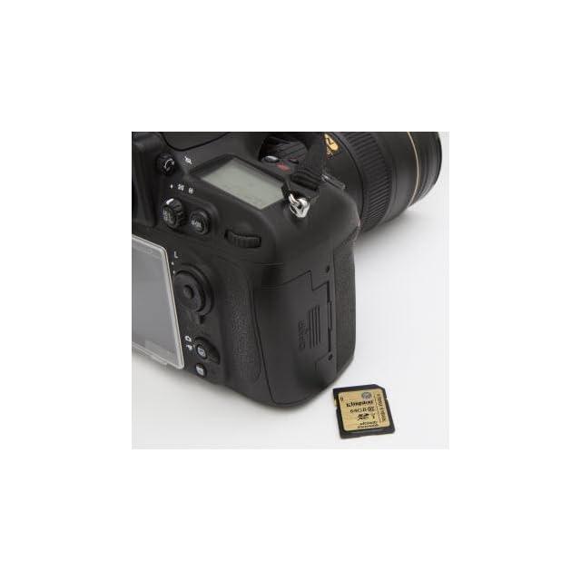 Kingston Digital 64GB SDXC Class 10 UHS I Flash Card (SDA10/64GB)