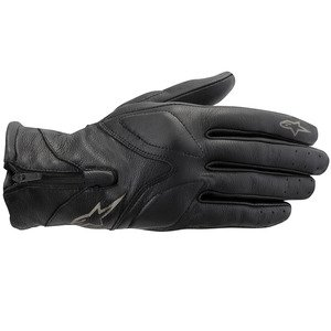 Alpinestars - Gants - VIKA BLACK GLOVE - Couleur : Black - Taille : S