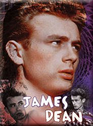 James Dean - Magnets - J DEAN/3 FACES OF DEAN Magnet