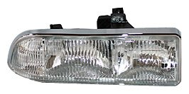 TYC 20-5237-00 Chevrolet Passenger Side Headlight Assembly (S10 Headlight Assembly compare prices)