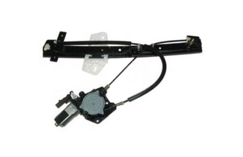 TYC 660162 Compatible with DODGE Stratus Sedan Front Driver Side Replacement Power Window Regulator Assembly with Motor