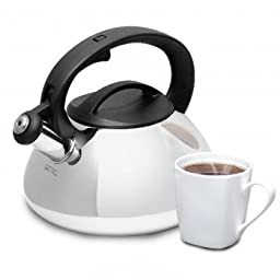 Mr. Coffee Harpwell Whistling Tea Kettle, 2-Quart