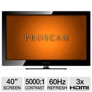 """Proscan PLED4017A 40"""" 1080p 60Hz LED HDTV"""