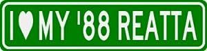 I Love My 1988 88 BUICK REATTA Sign