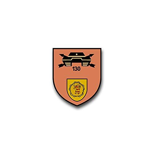 Aufkleber / Sticker - PzJgKp 130 Panzer Jäger Kompanie Sontra Heer Bundeswehr Wappen Abzeichen Emblem passend für Opel Astra Audi A6 VW Passat (7x6cm)#A1328