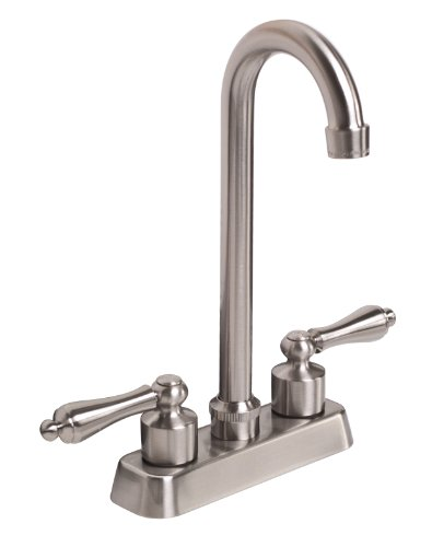Premier 120166 Wellington Two-Handle Bar Faucet, Brushed Nickel