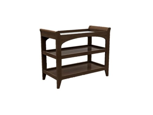 Lolly & Me Taylor Change Table, Espresso front-655194