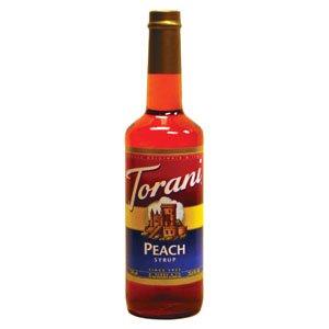Peach Flavor Torani Peach Syrup