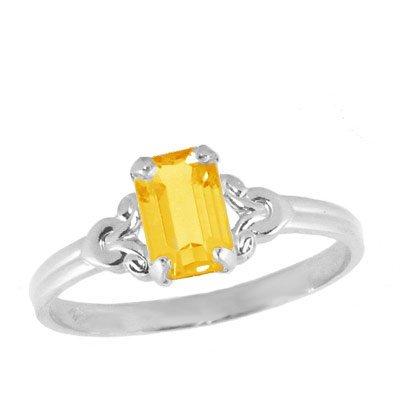 Girls Jewelry - Sterling Silver November Birthstone Ring (size 4)