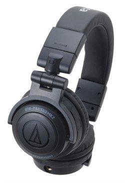 AUDIO TECHNICA ATH-PRO500MK2BK Rugged Design DJ Headphone (Black) (ATH-PRO500MK2BK)