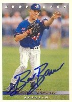 Brian Barnes Montreal Expos 1992 Upper Deck Autographed Hand Signed Trading Card. by Hall+of+Fame+Memorabilia