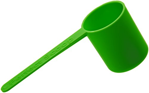 Arcway Industries The Perfect Scoop Coffee Scoop - with Easy Directions, Fresh Green