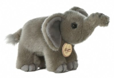 Aurora World Miyoni Elephant Plush, 8""