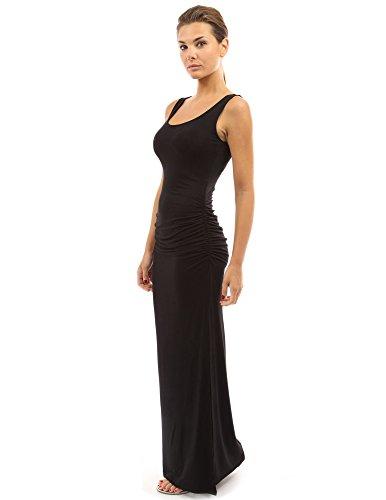 PattyBoutik Women's Sleeveless Summer Maxi Dress (Black M) (Tank Maxi Dresses For Women compare prices)
