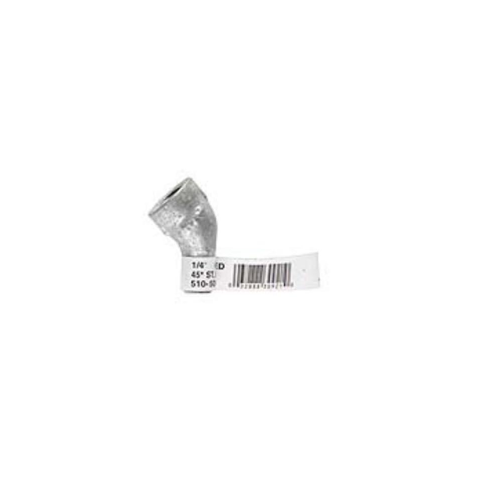 B /& K 520-506BG Street Elbow Black Mip Malleable Iron