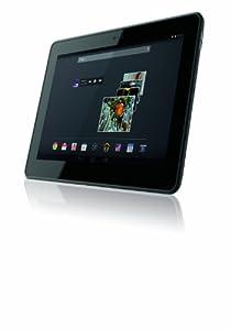 """Gigaset QV1030 Tablette Tactile 10"""" (25,40 cm) Nvidia Core 2 Quad T4OS 1,8 GHz 16 Go Android Jelly Bean 4.2.2 Wi-Fi Noir"""