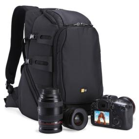Case Logic DSB-102 Luminosity Medium DSLR Split Pack with camera and lenses