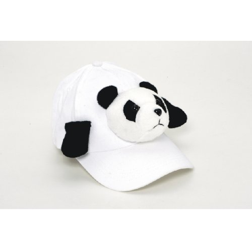Child Kids Stuffed Animal Plush Panda Baseball Hat Cap