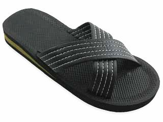 New Starbay Brand Men'S Black Slide Sandal Size 11 front-926529