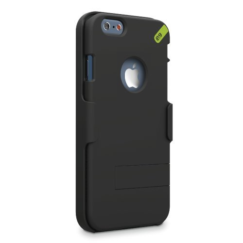 PureGear HIP Case+ for iPhone 6s/6 - Black/Green (Canada Iphone 4 Case compare prices)