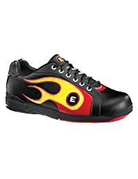 Etonic Red/Yellow Flame Mens Bowling Shoes