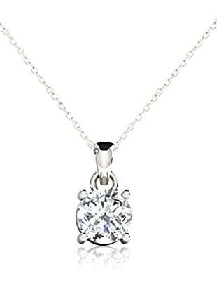 Friendly Diamonds Conjunto de cadena y colgante FDP6257W Oro Blanco