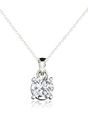 Friendly Diamonds Conjunto de cadena y colgante FDP6257W Oro Blanco