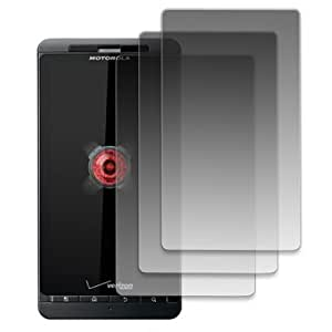 MPERO Motorola DROID X2 3 Pack of Clear Screen Protectors [MPERO Packaging]