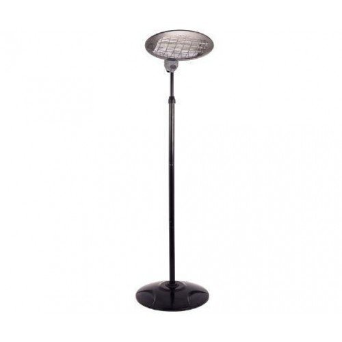 Free Standing 2000 Watts Quartz Electric Indoor Outdoor Patio Heater