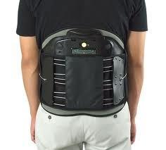 """Aspen Contour LSO Complete 12"""" Black Back Brace, #990051"""