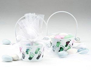 Wilton 1003-1042 Baby Feet Basket, Multicolor - 1