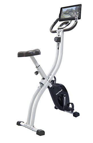 Innova Fitness Folding Upright Bike with Tablet Holder