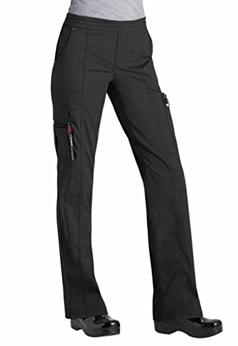 Beyond Scrubs Women's Blaire Utility Inspired Scrub Pants 3X Black