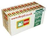 Swan Precut Menthol Filter Tips Full Box Of 20