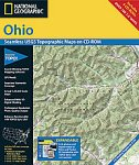 National Geographic TOPO! Ohio Map CD...