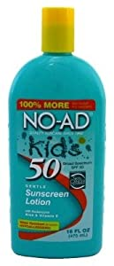 No-Ad Kids Sunscreen Lotion Spf 50
