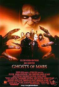 Ghost of Mars Single Sided Original Movie Poster 27x40