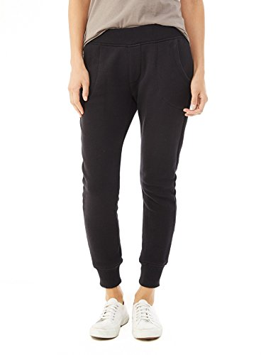 Alternative Womens Organic Heavy French Terry Jogger Pants Large Black (Alternative French Terry compare prices)